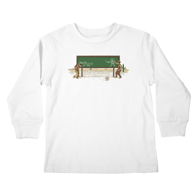 Quick Draw Kids Longsleeve T-Shirt by Made With Awesome