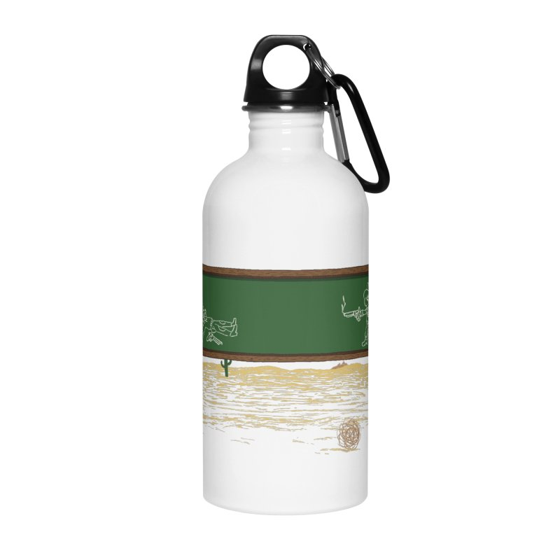 Quick Draw Accessories Water Bottle by Made With Awesome