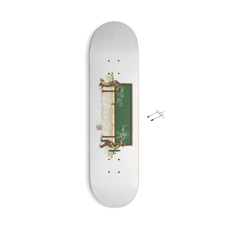 Quick Draw Accessories With Hanging Hardware Skateboard by Made With Awesome