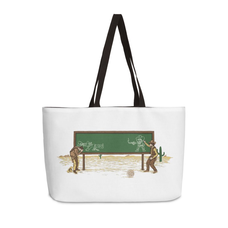 Quick Draw Accessories Weekender Bag Bag by Made With Awesome