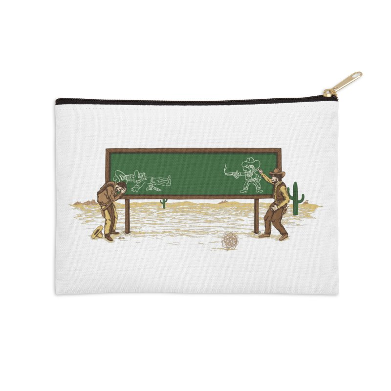 Quick Draw Accessories Zip Pouch by Made With Awesome