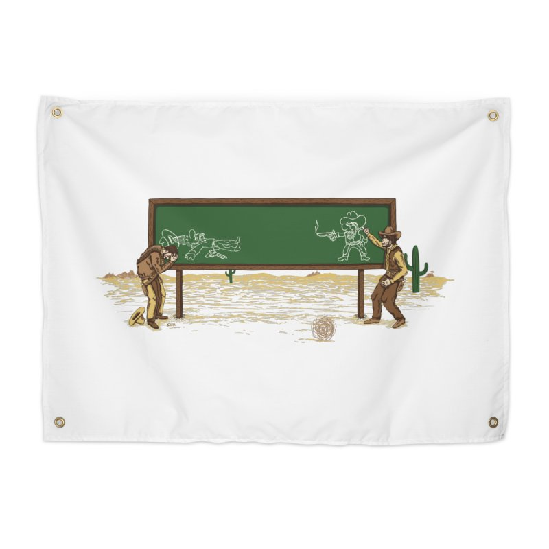 Quick Draw Home Tapestry by Made With Awesome