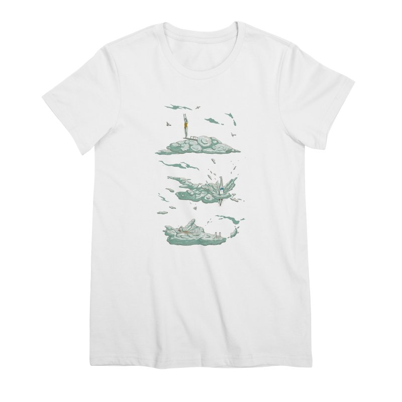 Sky Dive Women's Premium T-Shirt by Made With Awesome