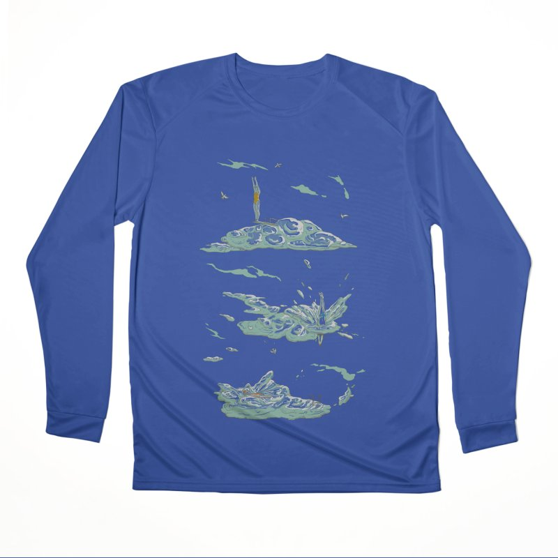 Sky Dive Men's Performance Longsleeve T-Shirt by Made With Awesome