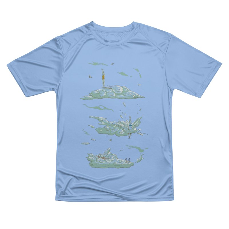 Sky Dive Men's Performance T-Shirt by Made With Awesome