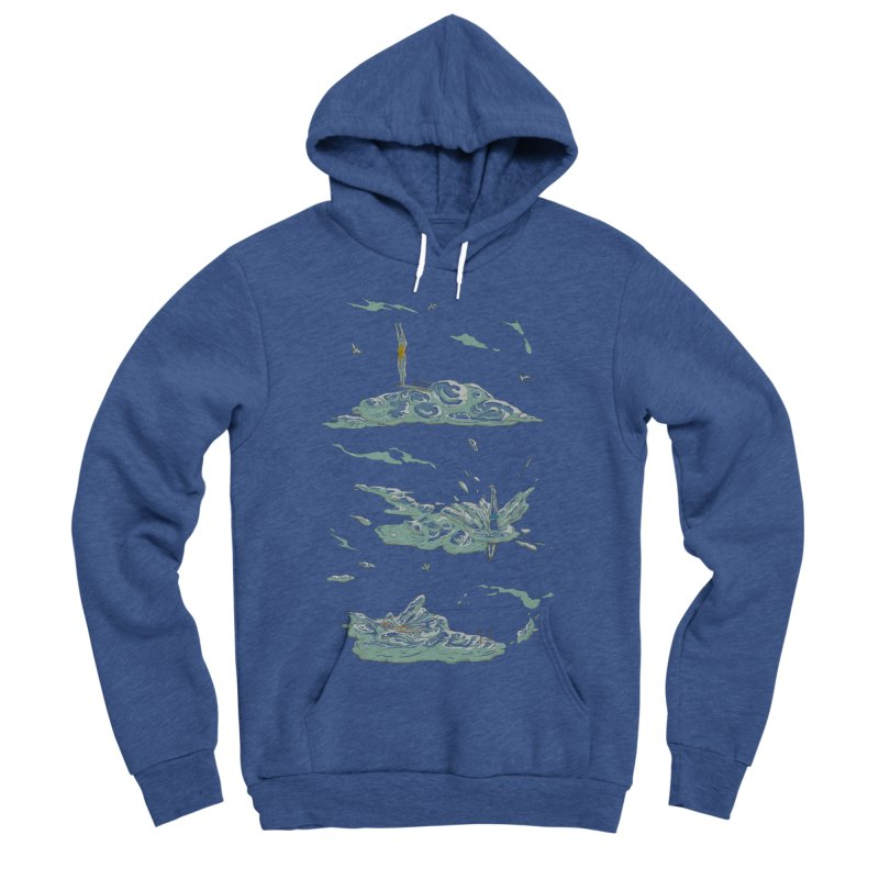 Sky Dive Women's Sponge Fleece Pullover Hoody by Made With Awesome