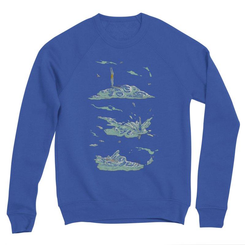 Sky Dive Men's Sponge Fleece Sweatshirt by Made With Awesome