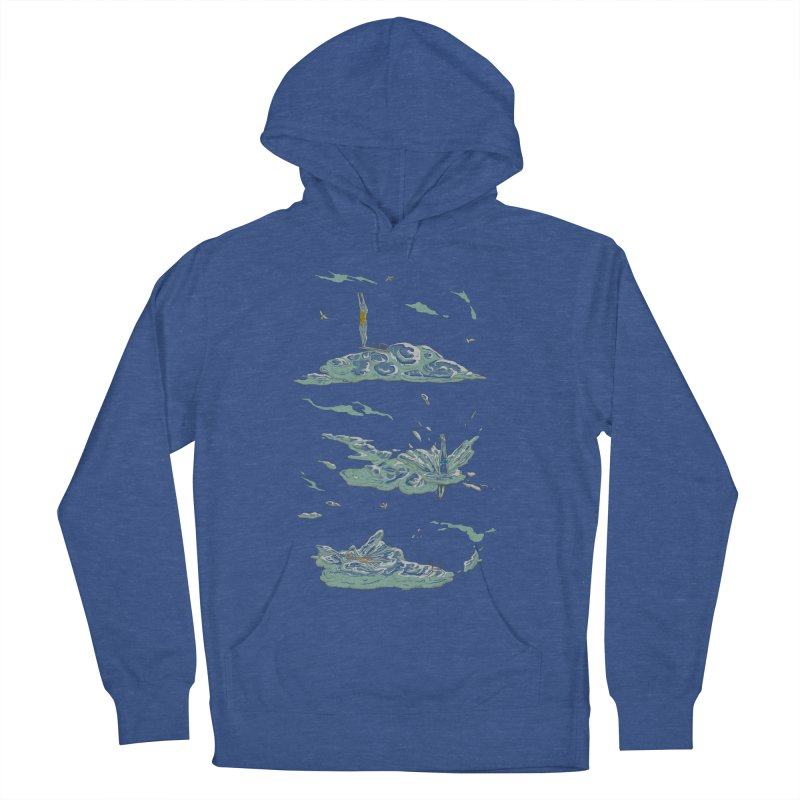Sky Dive Men's French Terry Pullover Hoody by Made With Awesome
