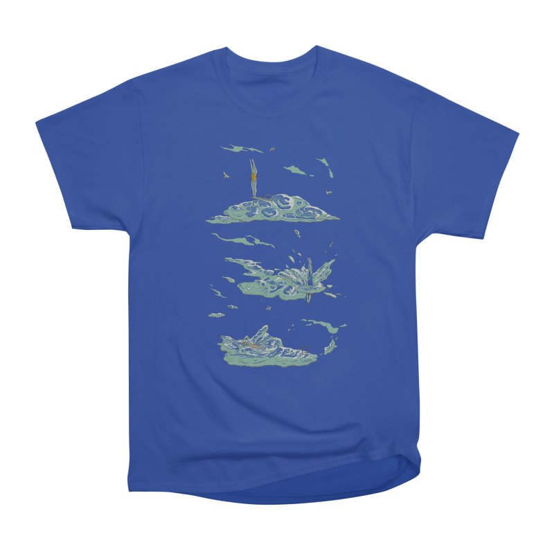 Sky Dive Men's Heavyweight T-Shirt by Made With Awesome