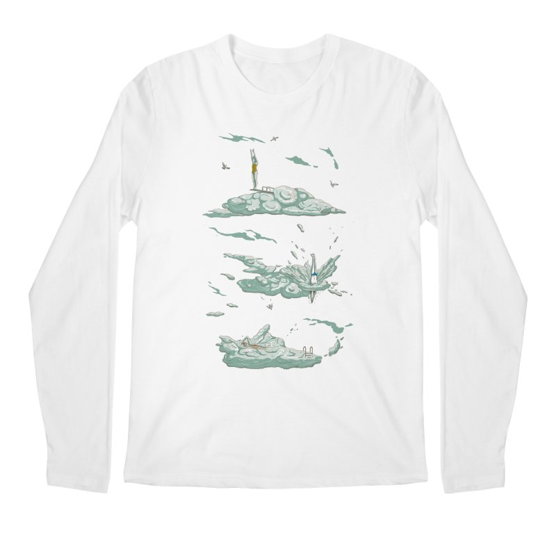 Sky Dive Men's Regular Longsleeve T-Shirt by Made With Awesome