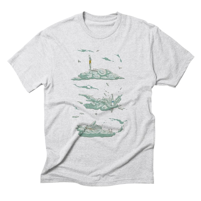 Sky Dive Men's Triblend T-Shirt by Made With Awesome