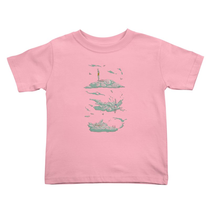 Sky Dive Kids Toddler T-Shirt by Made With Awesome