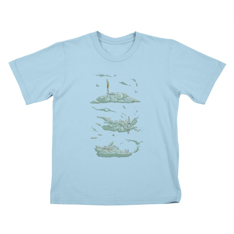 Sky Dive Kids T-Shirt by Made With Awesome
