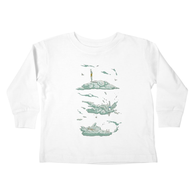 Sky Dive Kids Toddler Longsleeve T-Shirt by Made With Awesome