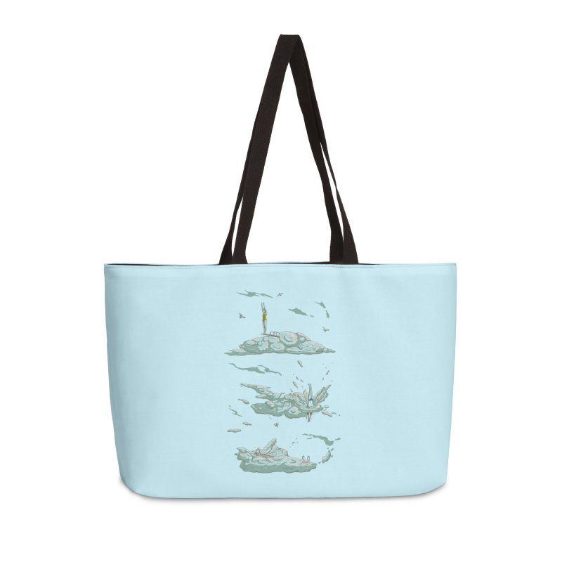 Sky Dive Accessories Weekender Bag Bag by Made With Awesome
