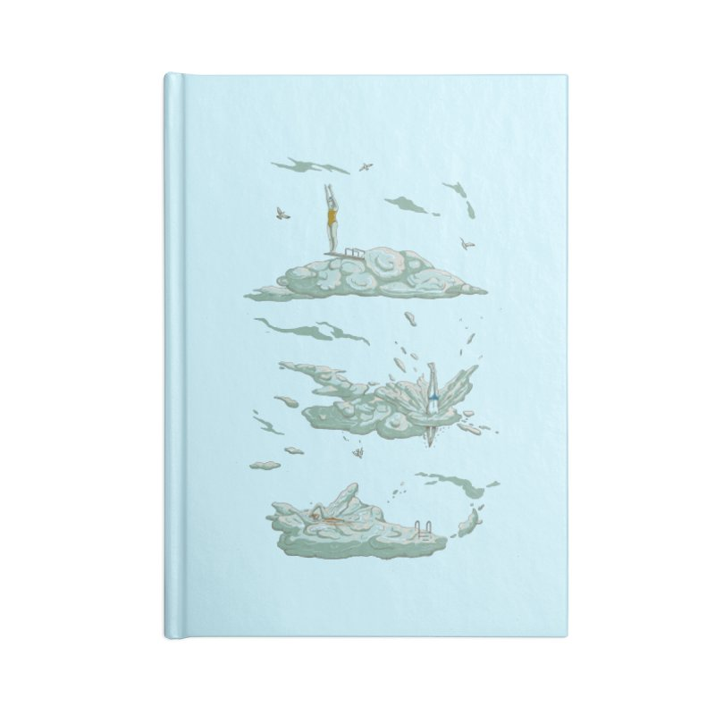 Sky Dive Accessories Blank Journal Notebook by Made With Awesome