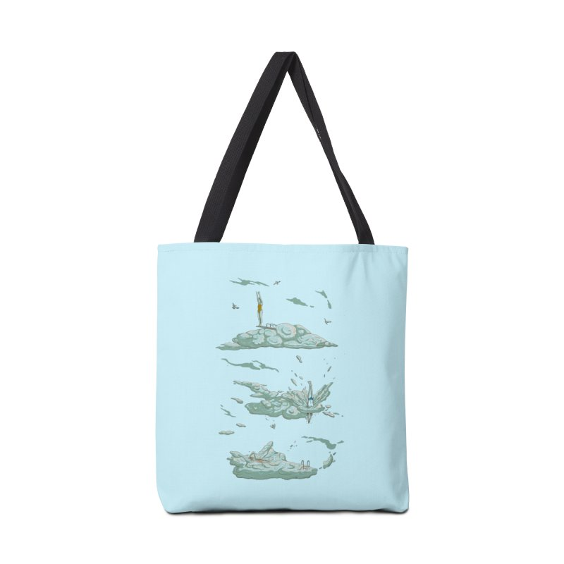 Sky Dive Accessories Tote Bag Bag by Made With Awesome