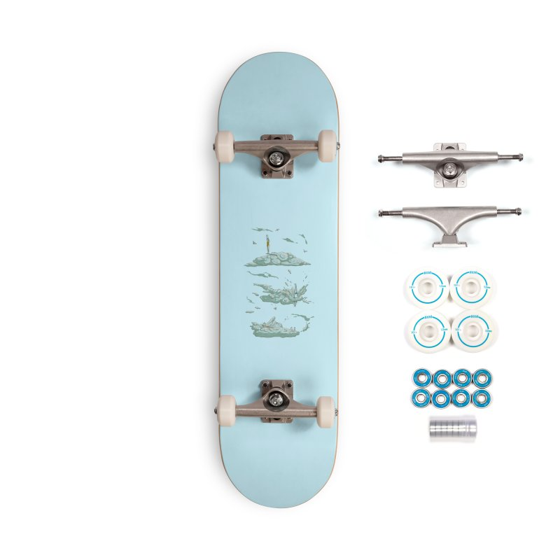 Sky Dive Accessories Complete - Basic Skateboard by Made With Awesome