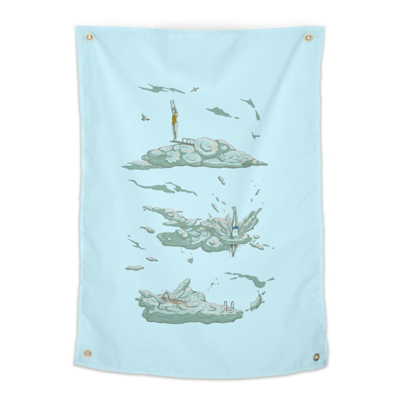 Sky Dive Home Tapestry by Made With Awesome
