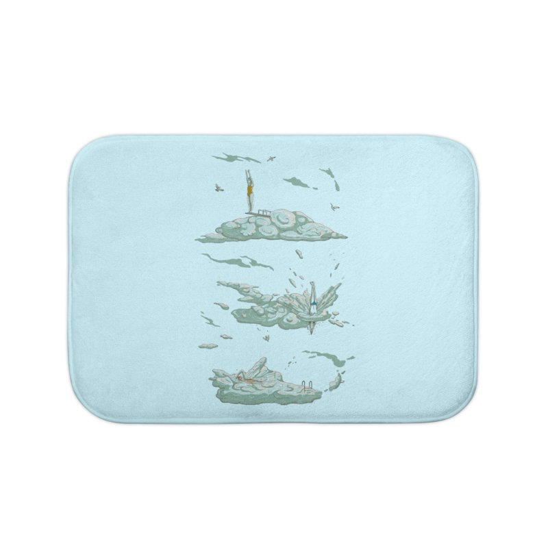 Sky Dive Home Bath Mat by Made With Awesome