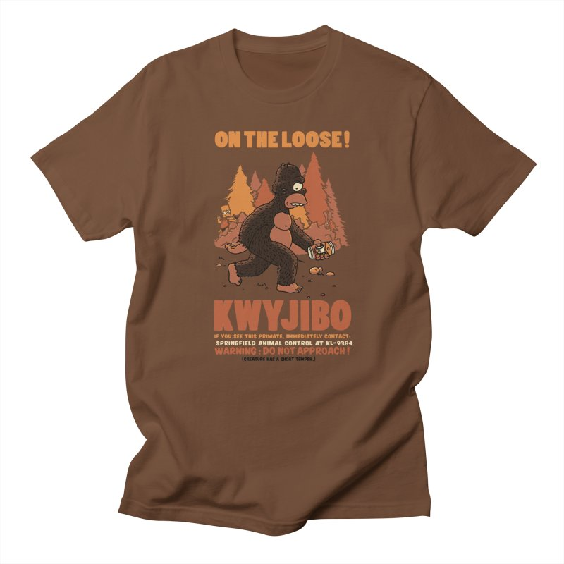 KWYJIBO On The Loose! Men's T-Shirt by Made With Awesome