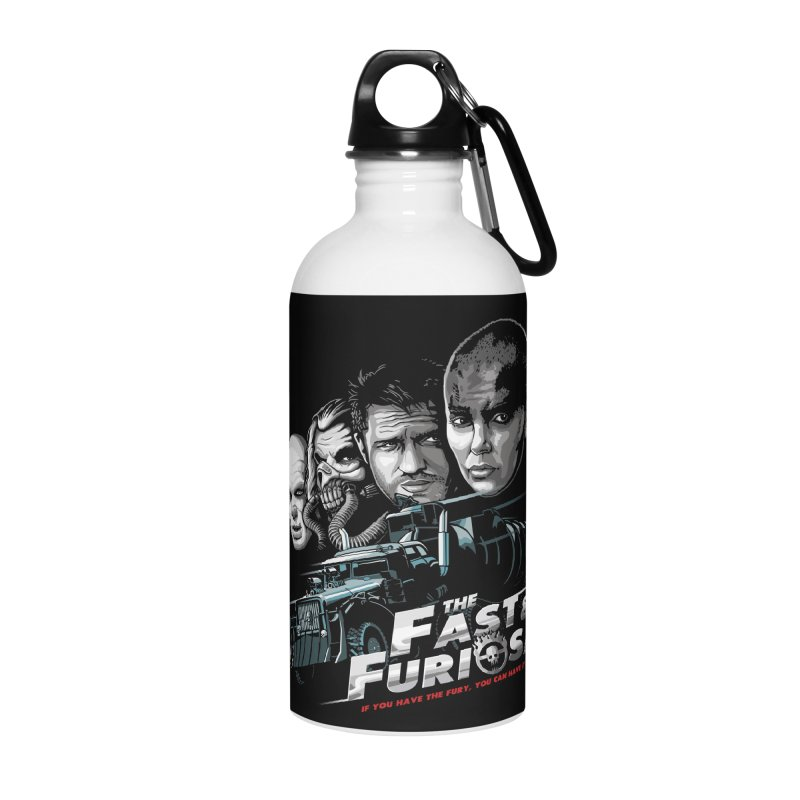 The Fast and Furiosa Accessories Water Bottle by Made With Awesome