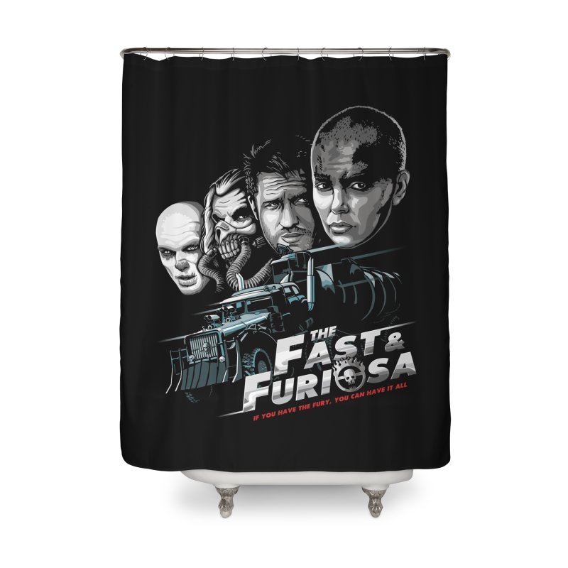 The Fast and Furiosa Home Shower Curtain by Made With Awesome