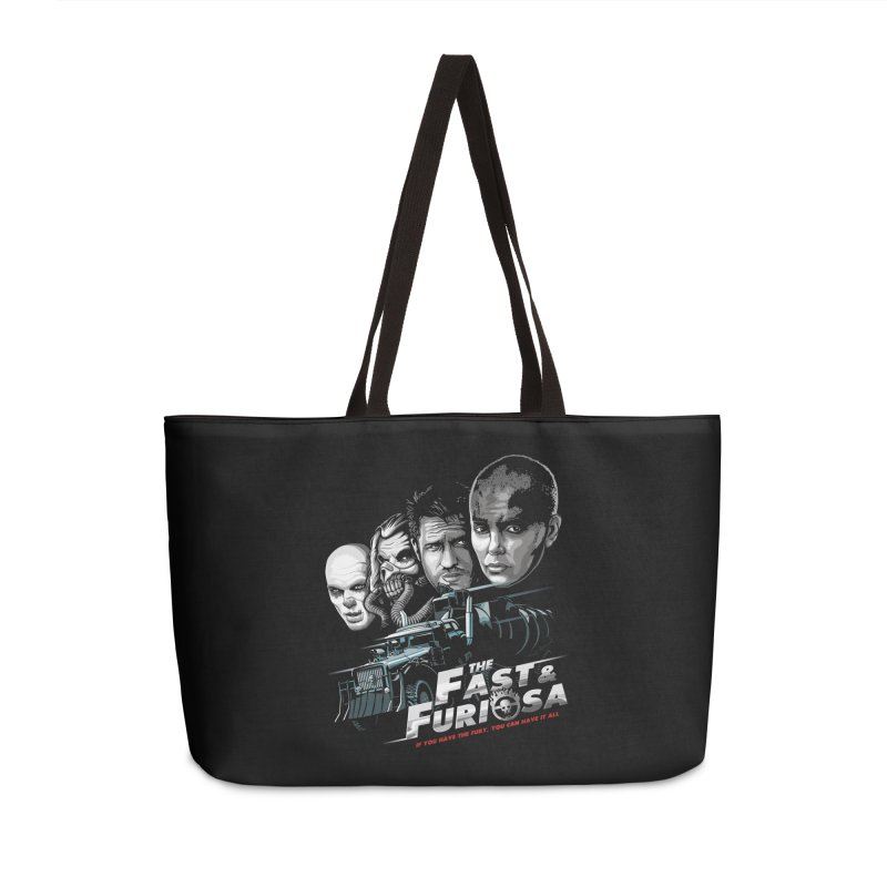 The Fast and Furiosa Accessories Weekender Bag Bag by Made With Awesome
