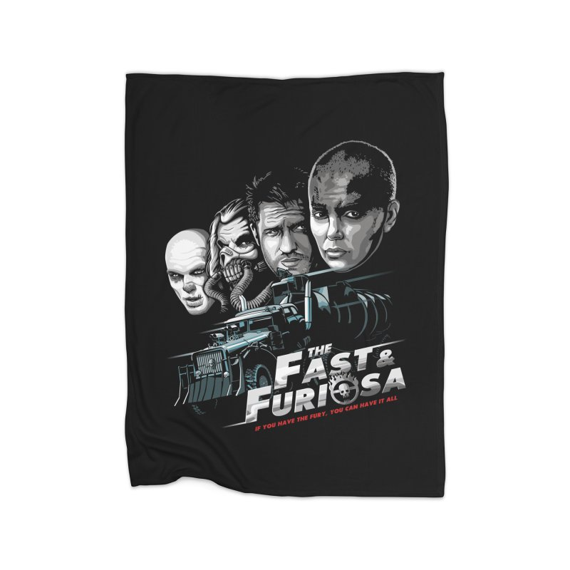 The Fast and Furiosa Home Fleece Blanket Blanket by Made With Awesome
