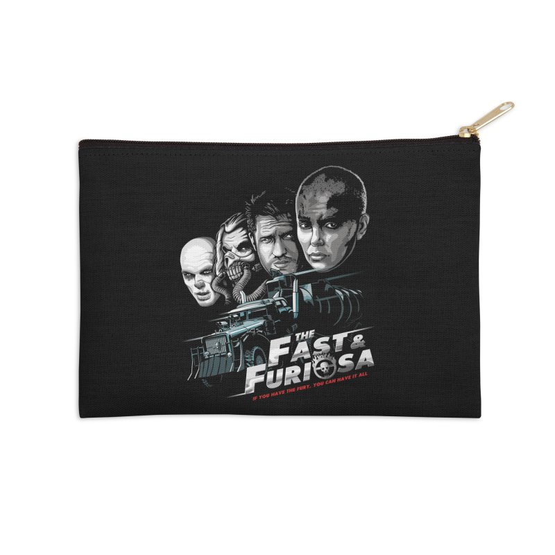 The Fast and Furiosa Accessories Zip Pouch by Made With Awesome
