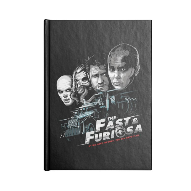 The Fast and Furiosa Accessories Lined Journal Notebook by Made With Awesome