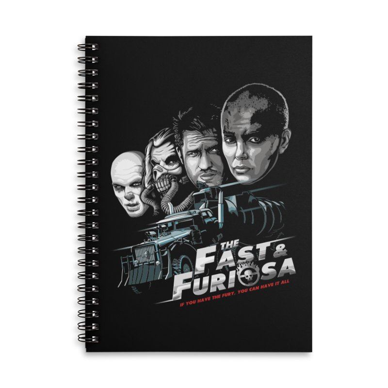 The Fast and Furiosa Accessories Lined Spiral Notebook by Made With Awesome