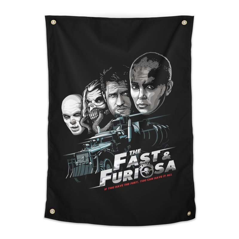 The Fast and Furiosa Home Tapestry by Made With Awesome
