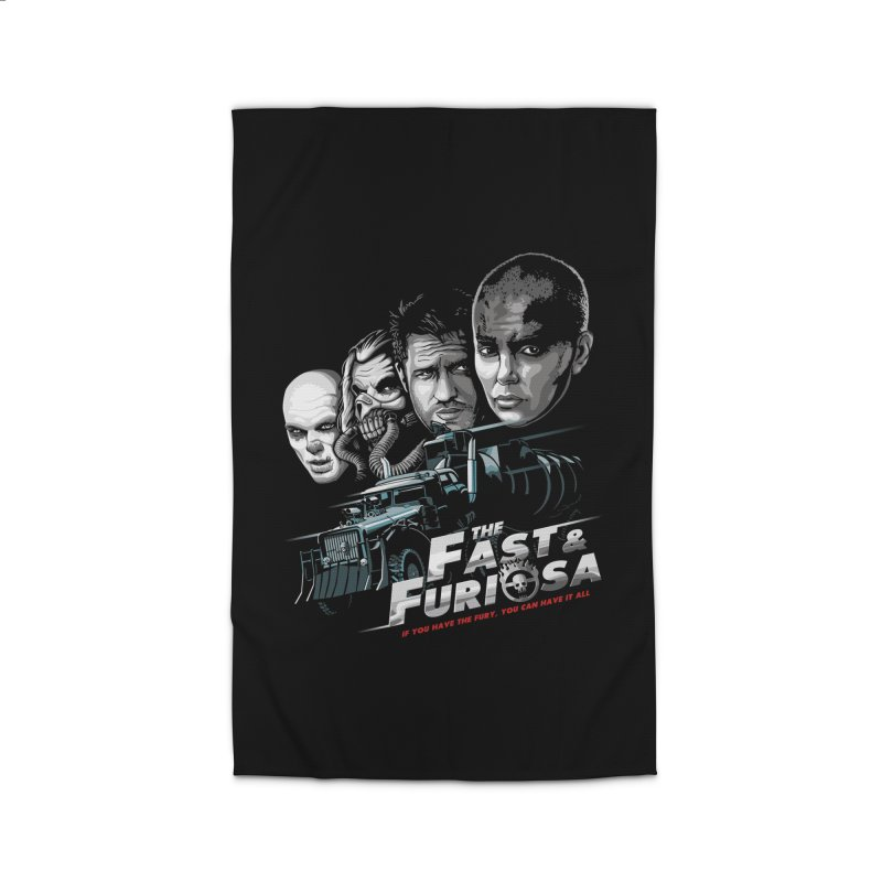 The Fast and Furiosa Home Rug by Made With Awesome