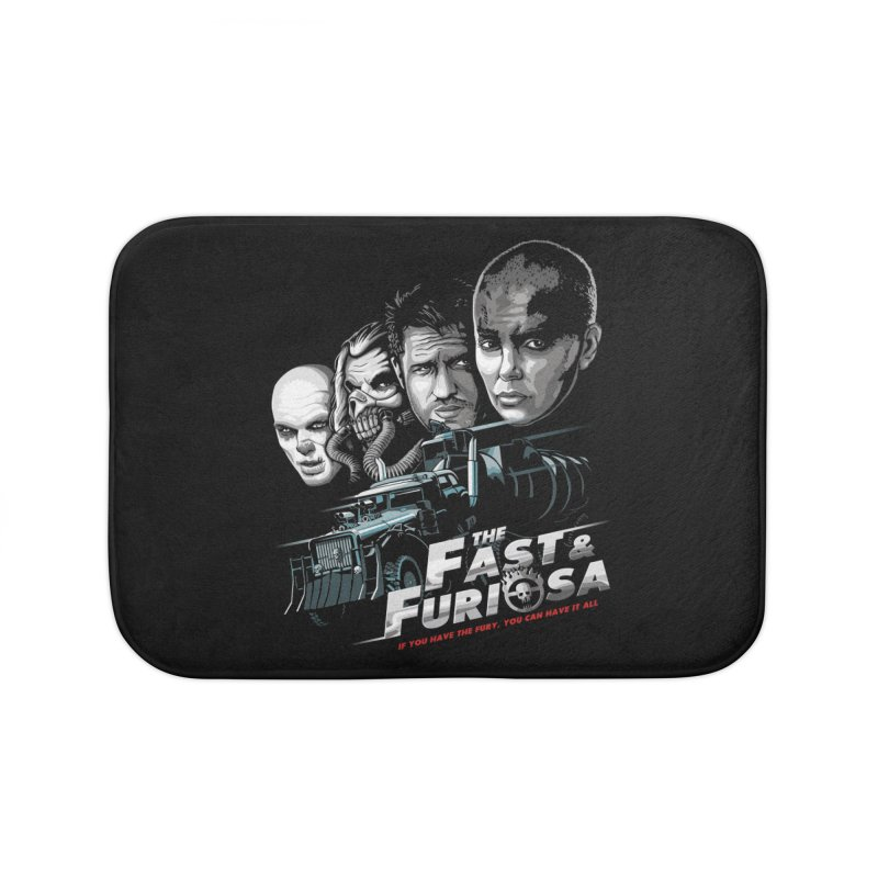 The Fast and Furiosa Home Bath Mat by Made With Awesome
