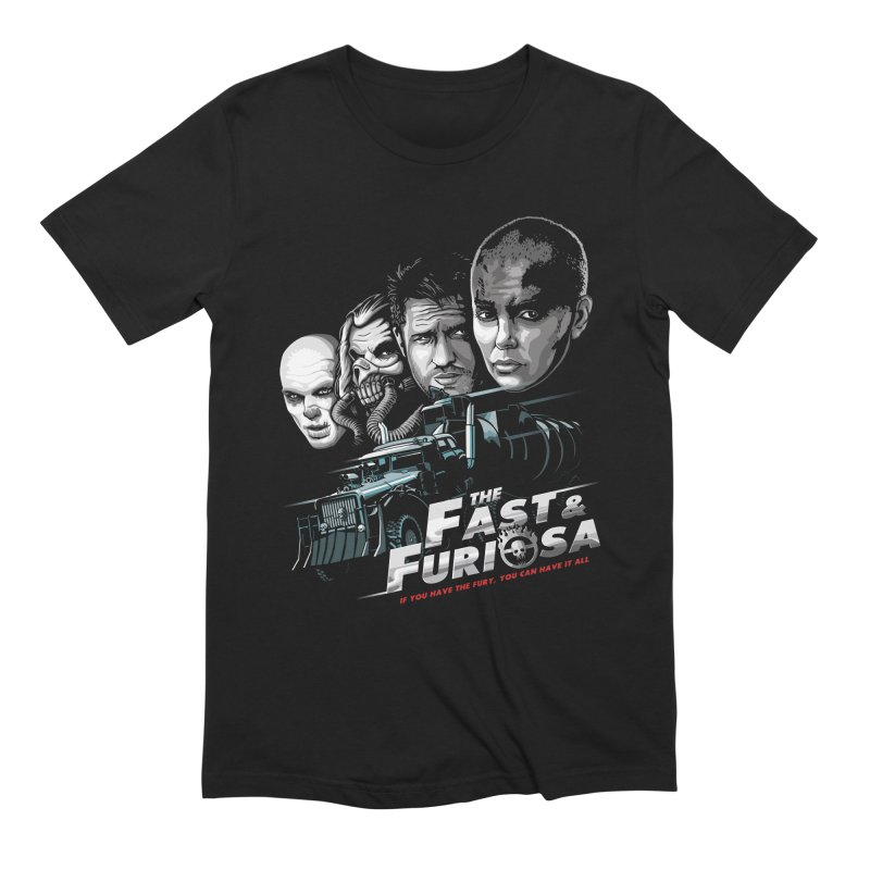 The Fast and Furiosa Men's Extra Soft T-Shirt by Made With Awesome