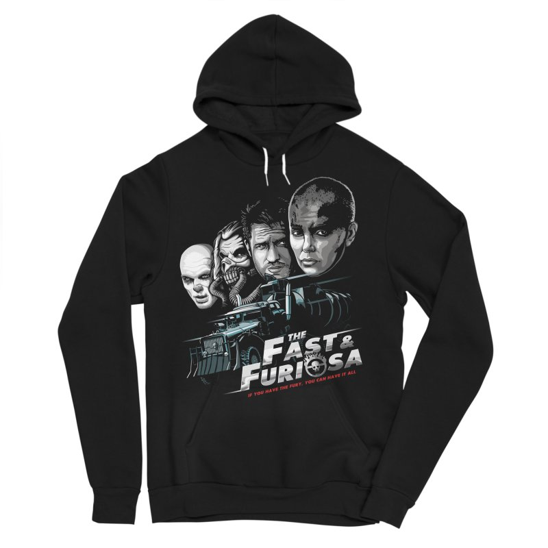 The Fast and Furiosa Men's Sponge Fleece Pullover Hoody by Made With Awesome