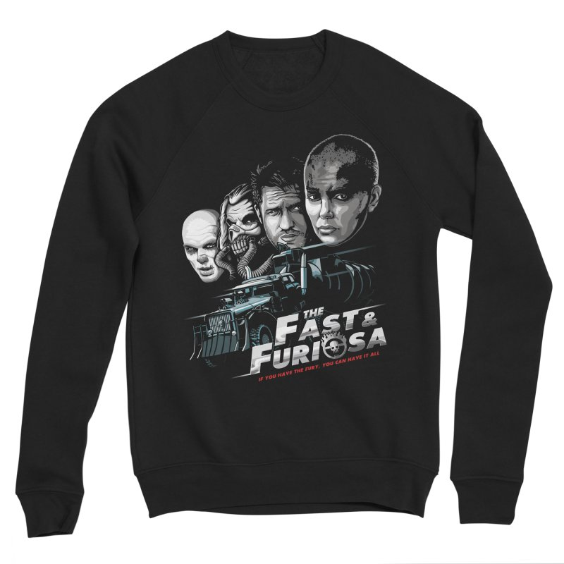 The Fast and Furiosa Men's Sponge Fleece Sweatshirt by Made With Awesome