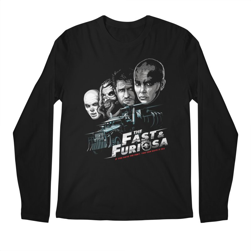 The Fast and Furiosa Men's Regular Longsleeve T-Shirt by Made With Awesome