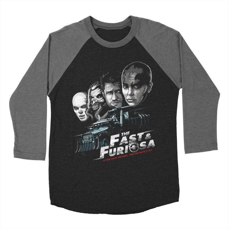The Fast and Furiosa Women's Baseball Triblend Longsleeve T-Shirt by Made With Awesome