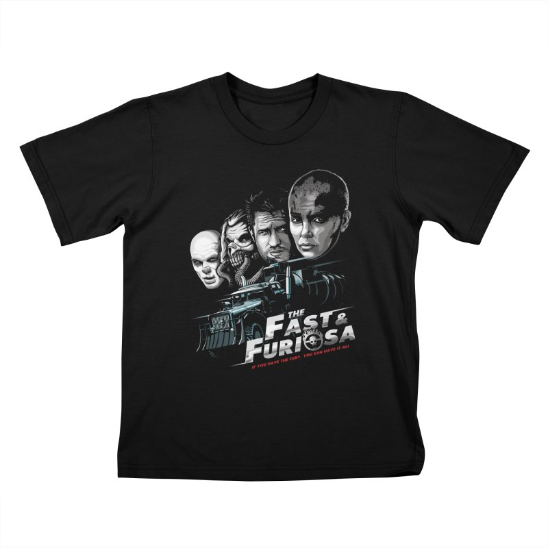 The Fast and Furiosa Kids T-Shirt by Made With Awesome
