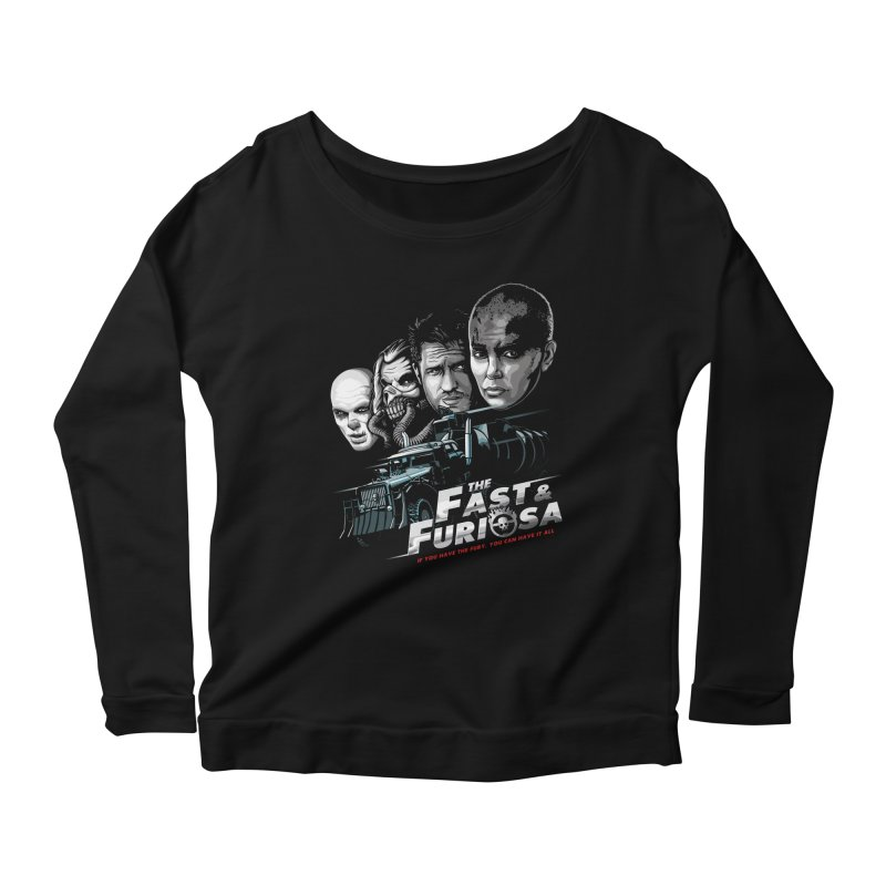 The Fast and Furiosa Women's Scoop Neck Longsleeve T-Shirt by Made With Awesome