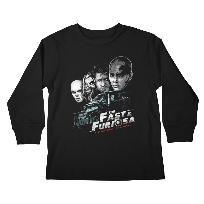 The Fast and Furiosa Kids Longsleeve T-Shirt by Made With Awesome