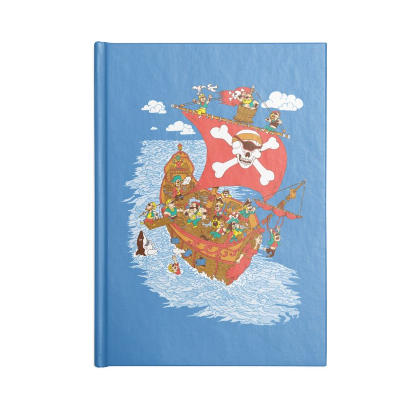 Cyclops Shouldn't Be Pirates Accessories Blank Journal Notebook by Made With Awesome