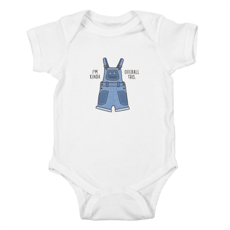Overall This Kids Baby Bodysuit by Made With Awesome