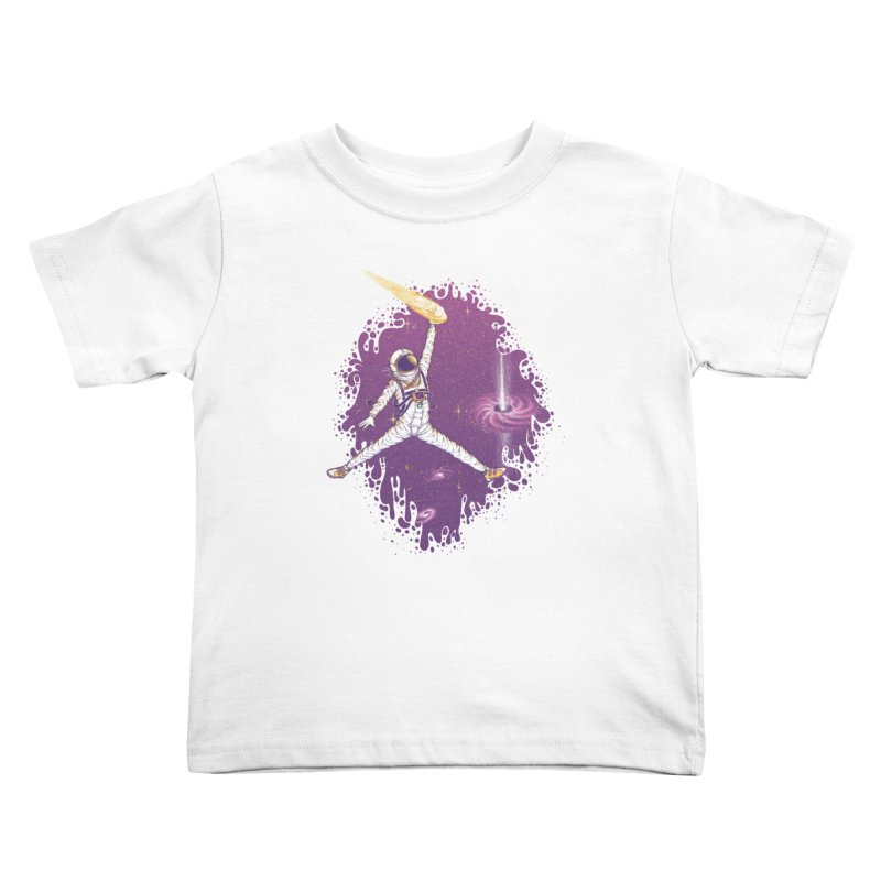 Space Jamz Kids Toddler T-Shirt by Made With Awesome