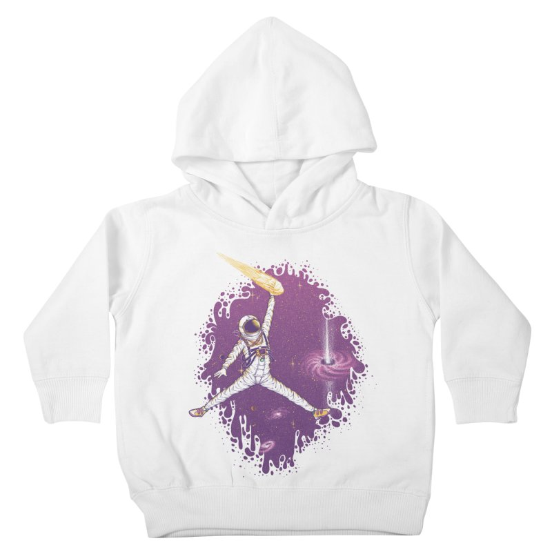 Space Jamz Kids Toddler Pullover Hoody by Made With Awesome