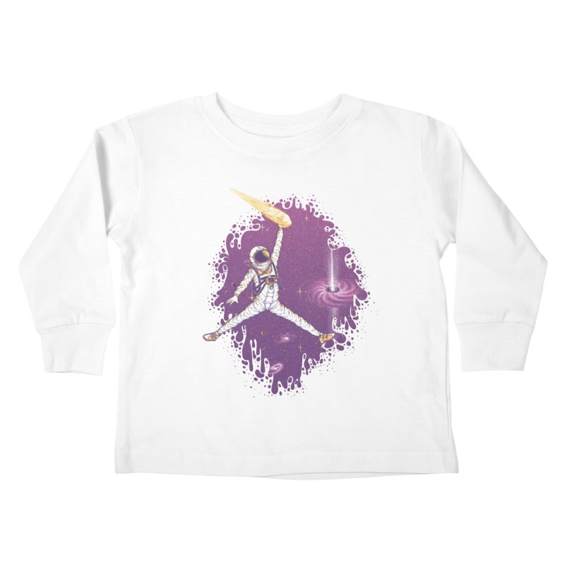 Space Jamz Kids Toddler Longsleeve T-Shirt by Made With Awesome