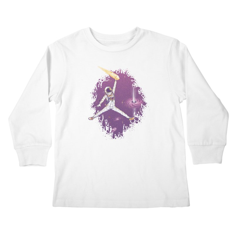 Space Jamz Kids Longsleeve T-Shirt by Made With Awesome