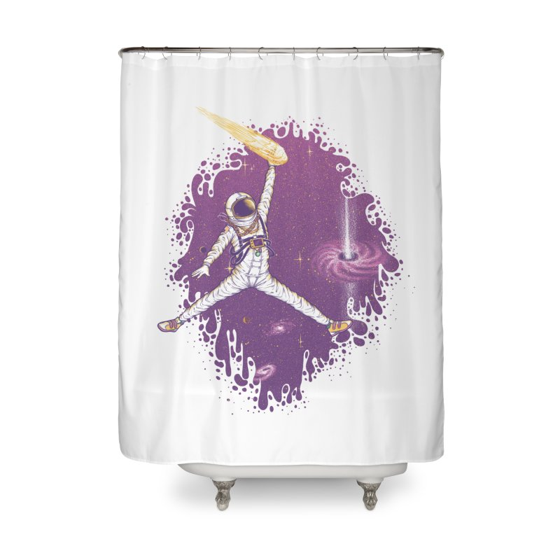 Space Jamz in Shower Curtain by Made With Awesome